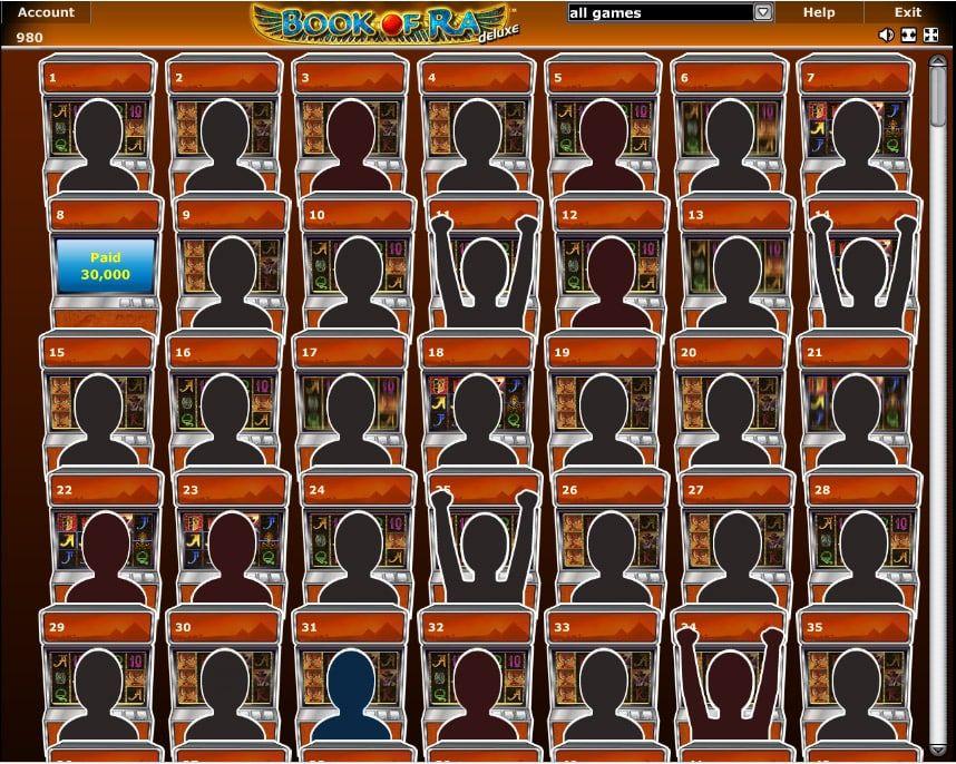 Novoline Casino Online - Lobby ansicht