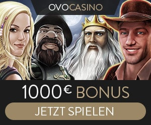 Ovo Casino als ehemaliges Novoline online Casino mit 100 € Startbonus