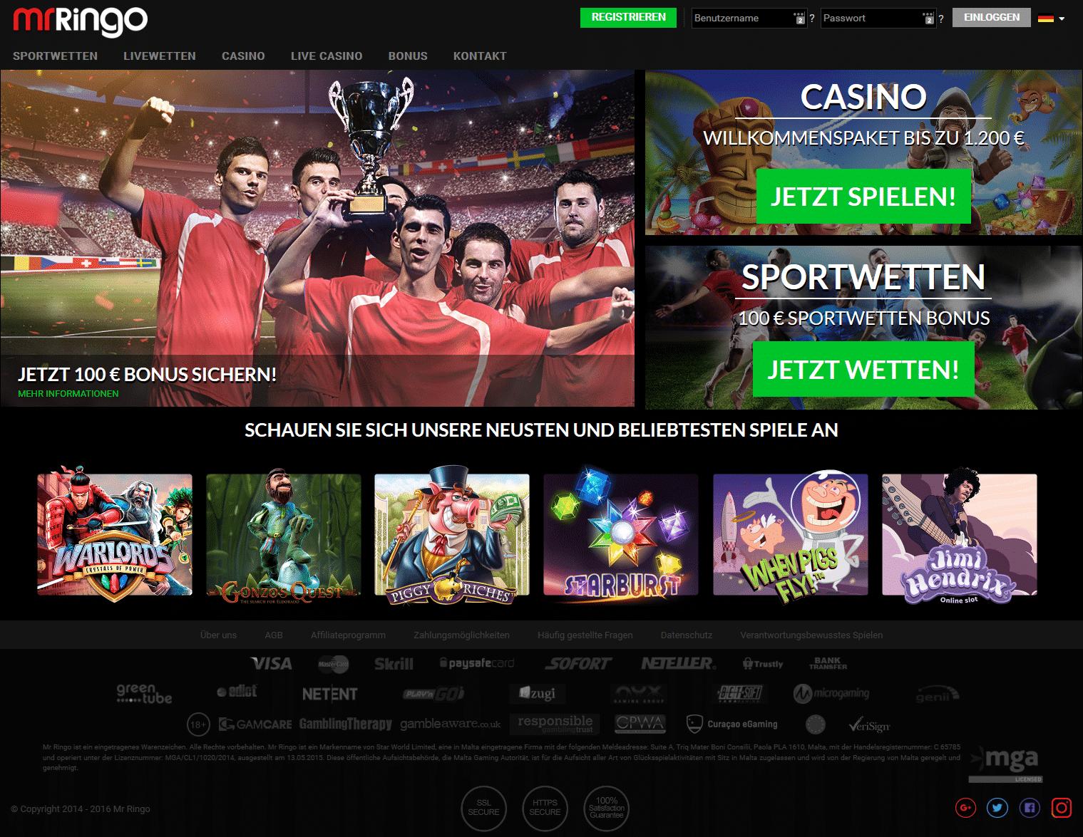 Casino Mrringo Bild