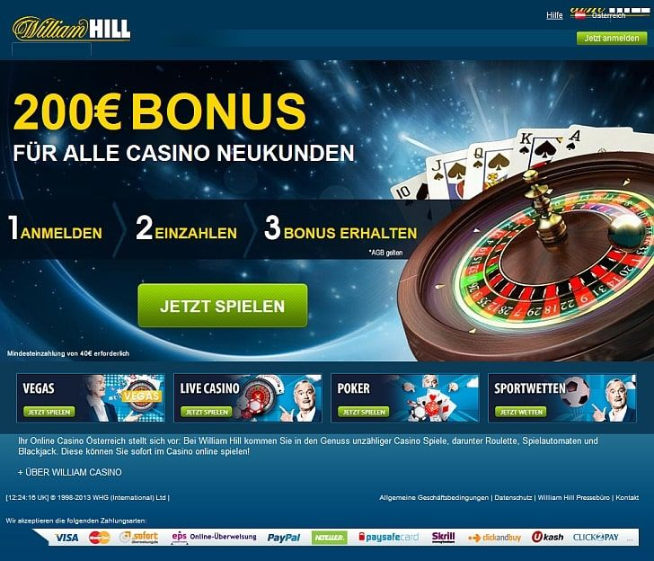 williamhill-kasino online