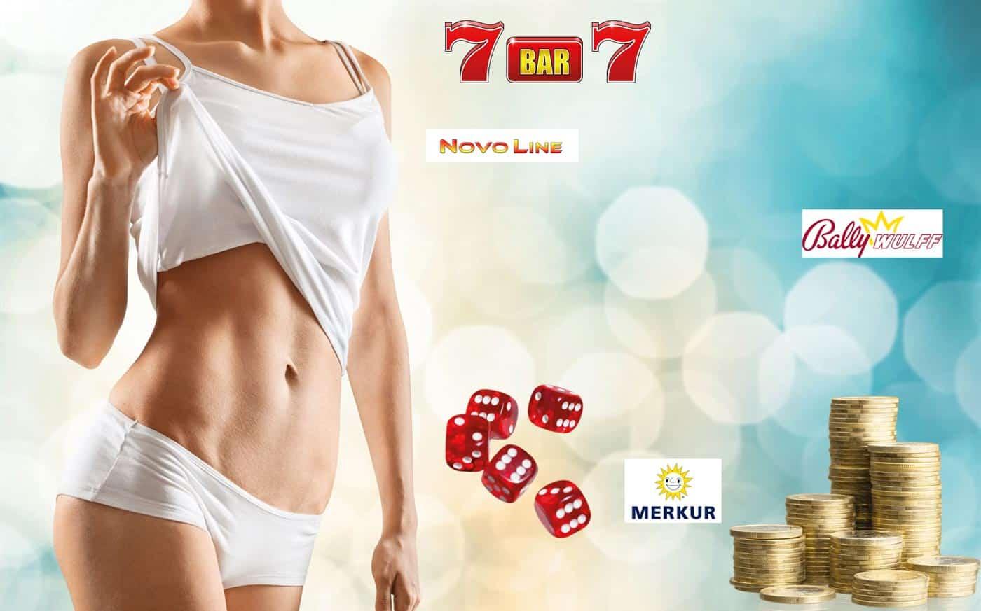 Sexy Frau im online Casino mit riesen Gewinnen - auch bei Novoline Spielen