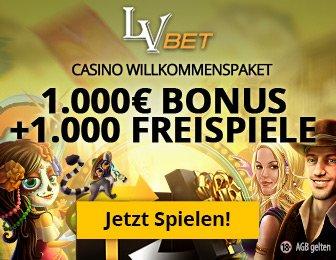 LVBet Novoline Casino mit Bonus