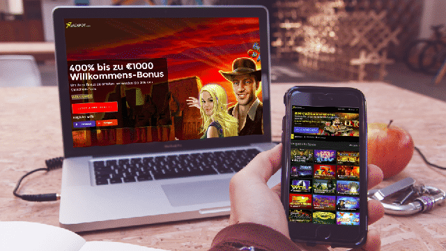 Novoline Casino Online - Lobby ansicht im 77Jackpot Casino