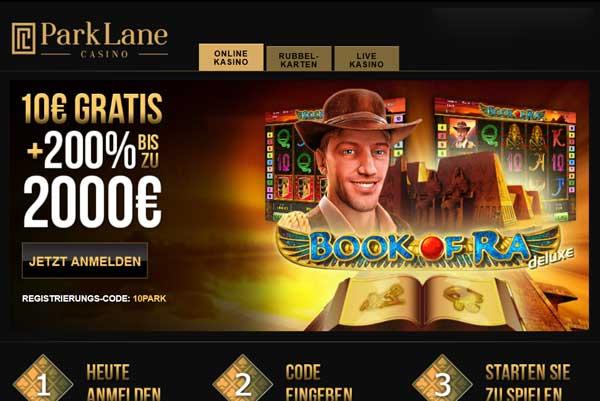 Park Lane Casino ohne Casino Lizenz für Europa
