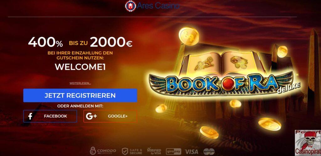 ARES Das Beste Novoline Online Casino 2018 - 2019