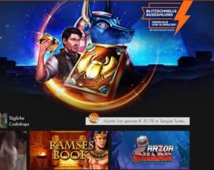 Winner Novoline Casino über 1.000 verschiedene Spiele